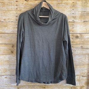 prAna Gray Pullover Sweatshirt Sz Medium